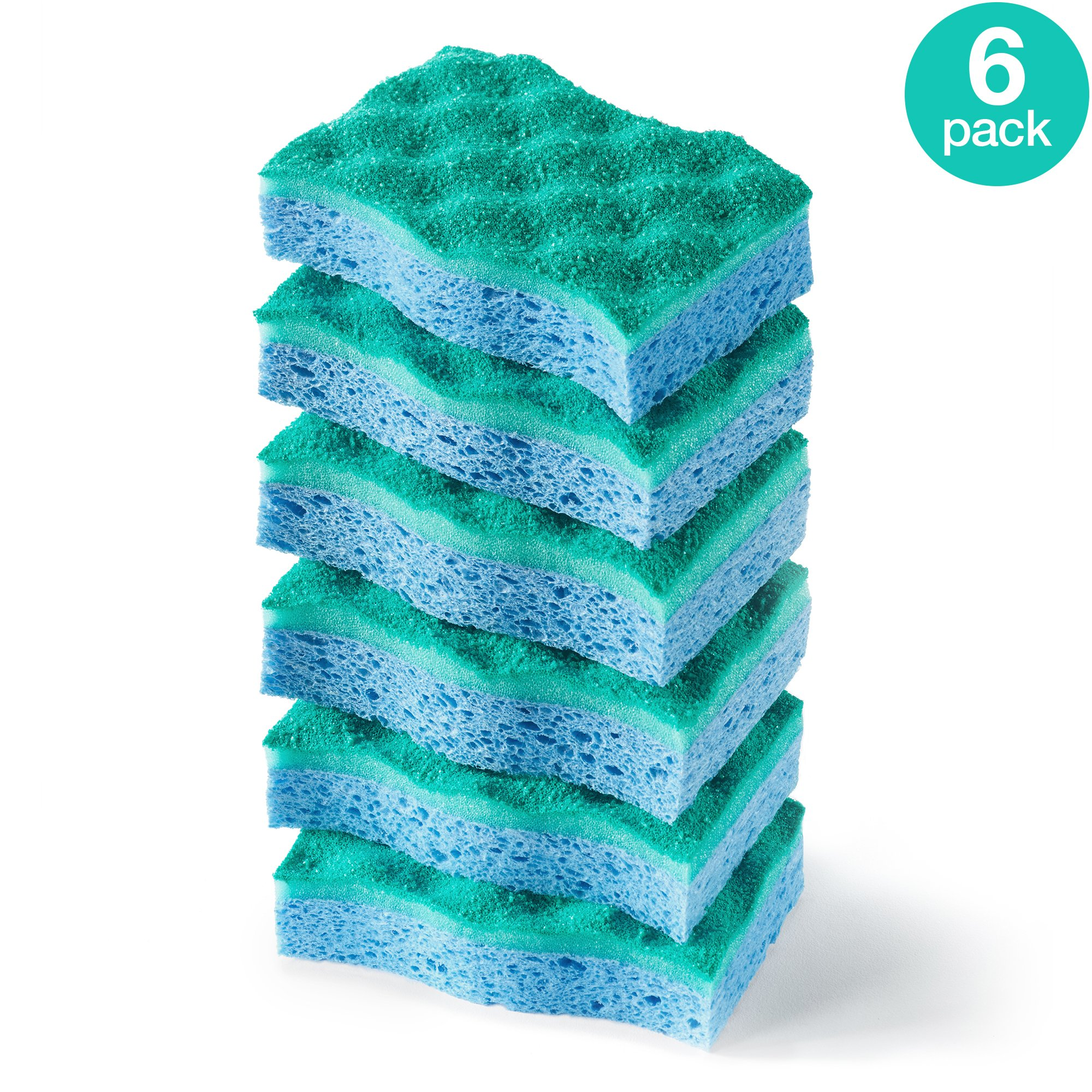 O-Cedar Multi-Use Scrunge Scrub Sponge (Pack of 6) product image
