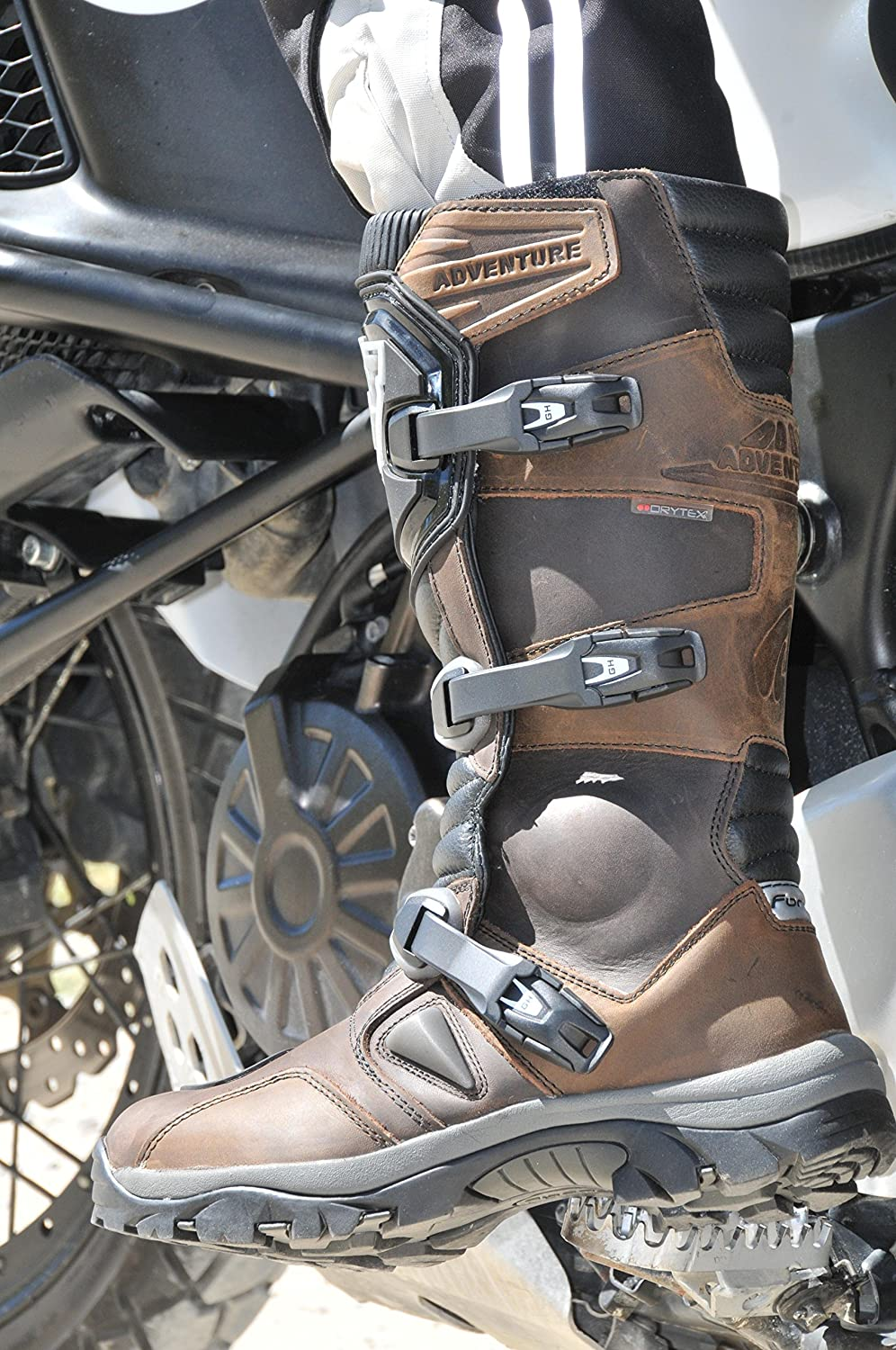 43 Black Forma/ Motorcycle Boots Adventure WP CE Approved