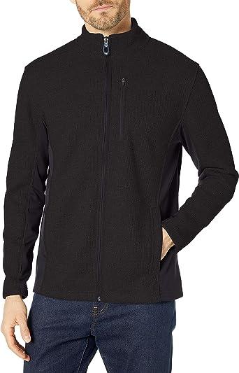 Choose SZ//color IZOD Men/'s Advantage Performance Shaker Fleece Jac