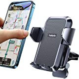 【Super Easy One Click】Car Phone Mount【1s Release】Phone Car Holder for Air Vent Reliable iPhone Car Mount Never Obstruct Drivi
