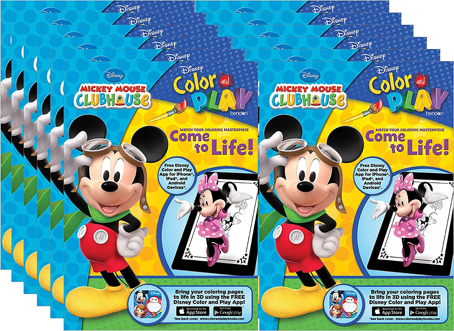 Mickey Mouse Clubhouse Stickers 12 count
