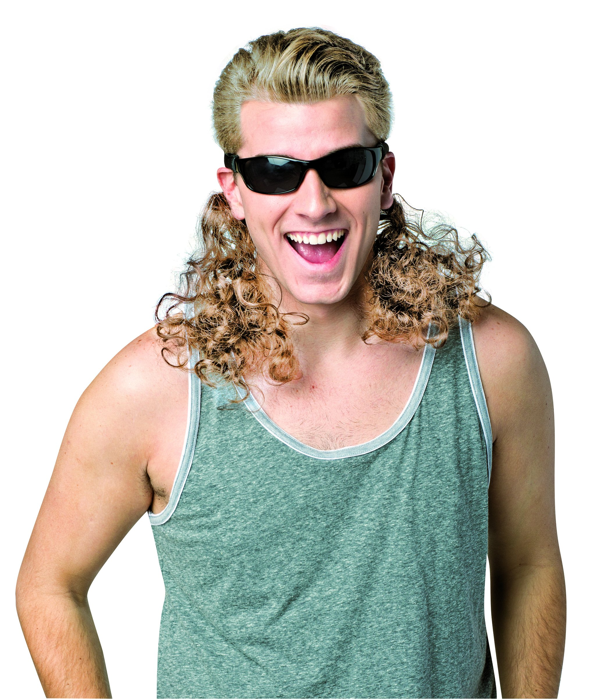 Rasta Imposta Men's Hair Dudes Curly, Blonde, One Size