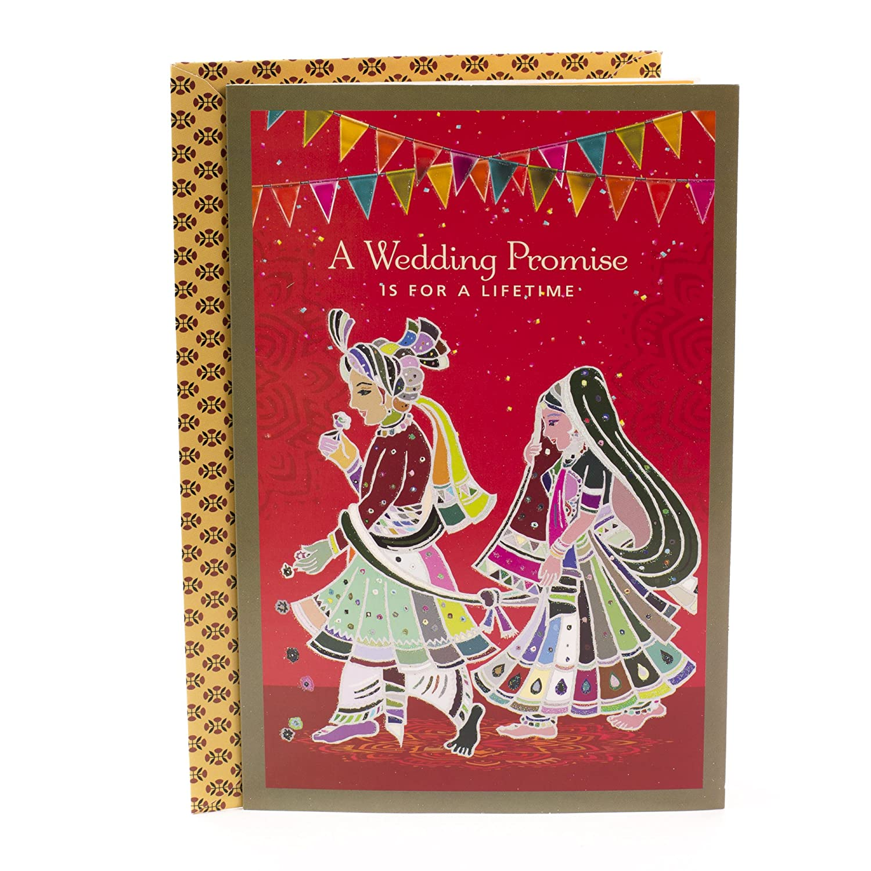 Hallmark Indian Wedding Card Promise