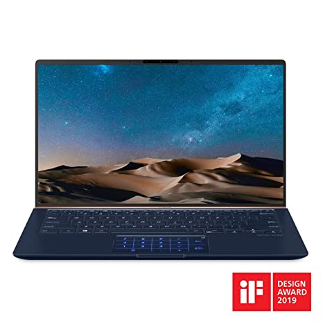 "ASUS ZenBook 14 Ultra-Slim Laptop 14"" FHD Nano-Edge Bezel, 8th-Gen Intel  Core i7-8565U Processor, 16GB LPDDR3, 512GB PCIe SSD, Backlit KB,"