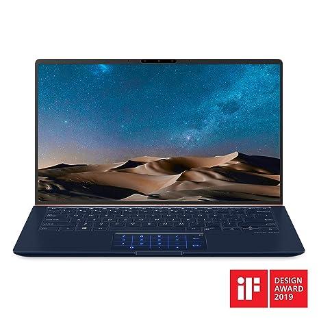 """69bb5b182a97 ASUS ZenBook 14 Ultra-Slim Laptop 14"""" FHD Nano-Edge Bezel, 8th-Gen Intel  Core i7-8565U Processor, 16GB LPDDR3, 512GB PCIe SSD, Backlit KB,  Numberpad, ..."""