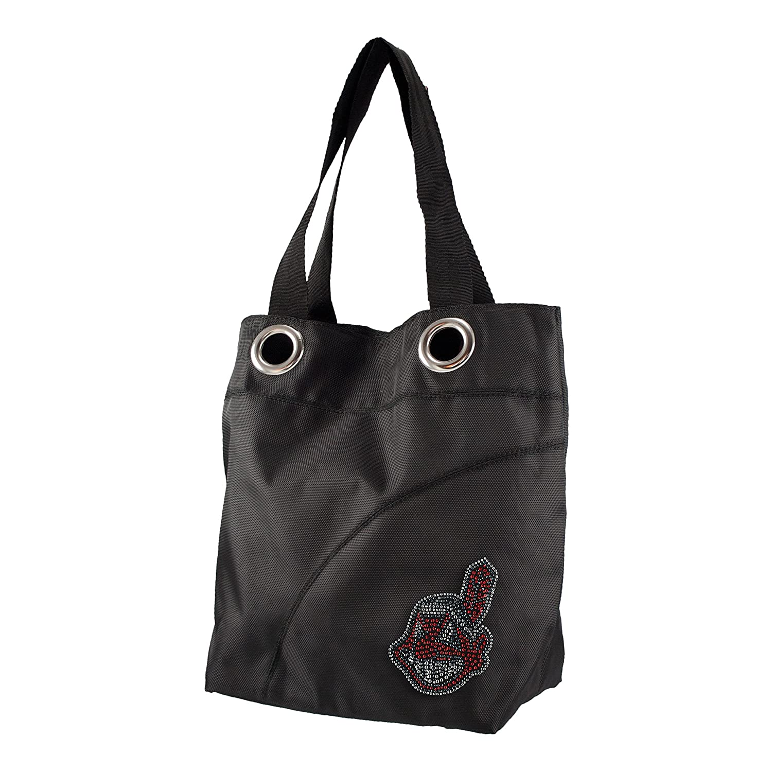 MLB Sport Noir Sheen Tote Purse