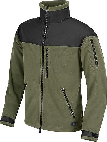 TALLA S. Helikon Classic Army Lana Polar Olive Green / Negro
