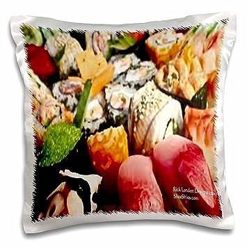 Amazon.com: Rick Londres Fine Art Sushi Gifts – Plato grande ...