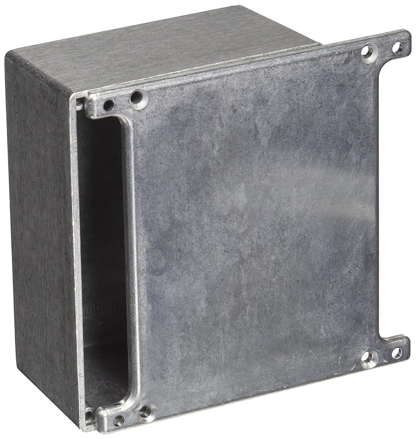 4-43//64 Length x 3-43//64 Width x 2-13//64 Height Natural Finish 4-43//64 Length x 3-43//64 Width x 2-13//64 Height BUD Industries CU-5234 Die Cast Aluminum Econobox with Mounting Bracket Cover