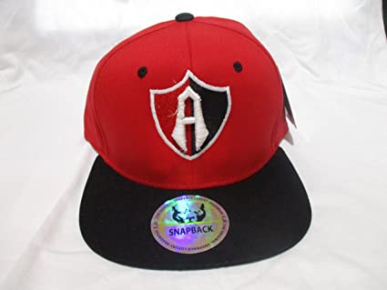 Club Atlas red cap gorra buckle seleccion mexicana chivas america cruz azul pumas (One size