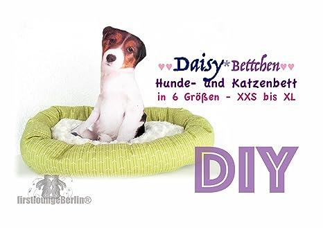Daisy Bettchen für Hund & Katze in 6 Größen XXS-XL, Nähanleitung ...