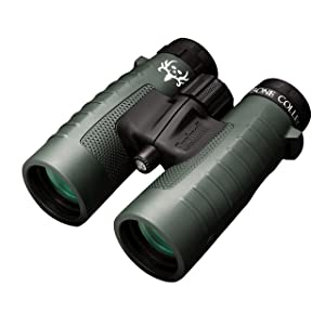 Bushnell Binocular Bundle: Trophy XLT Roof Prism Binoculars, 10x42mm (Bone Collector Edition) + Deluxe Binocular Harness