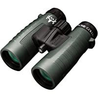 Bushnell Binocular Bundle: Trophy XLT Roof Prism Binoculars, 10x42mm, Green