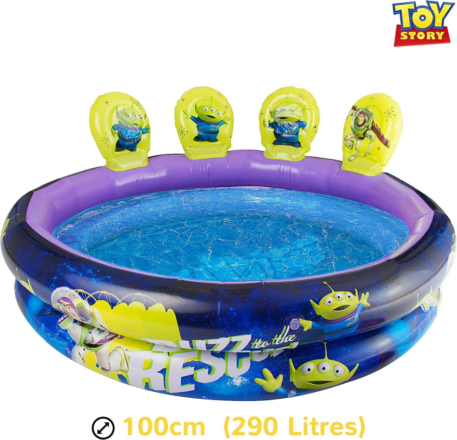 Disney Piscina Inflable Toy Story 4 | Piscina para Niños Al Aire ...