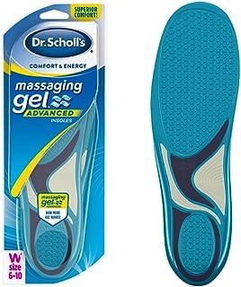 Comfort and Energy Massaging Gel Insoles