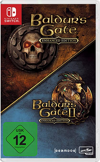 Baldurs Gate Enhanced Edition - [Nintendo Switch] [Importacion ...