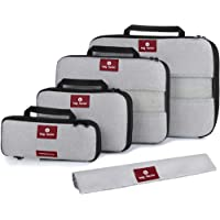 Compression Packing Cubes for Travel - Smart Modern Design Luggage Organizer Set