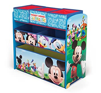 Delta Children Mickey Mouse Clubhouse Multi Bin. Amazon com   Delta Children Mickey Mouse Clubhouse Multi Bin