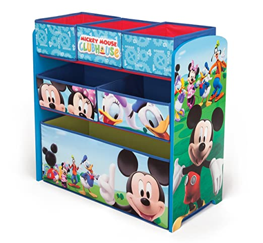 59 opinioni per Disney- Cassettiera organizer giocattoli in legno Mickey Mouse
