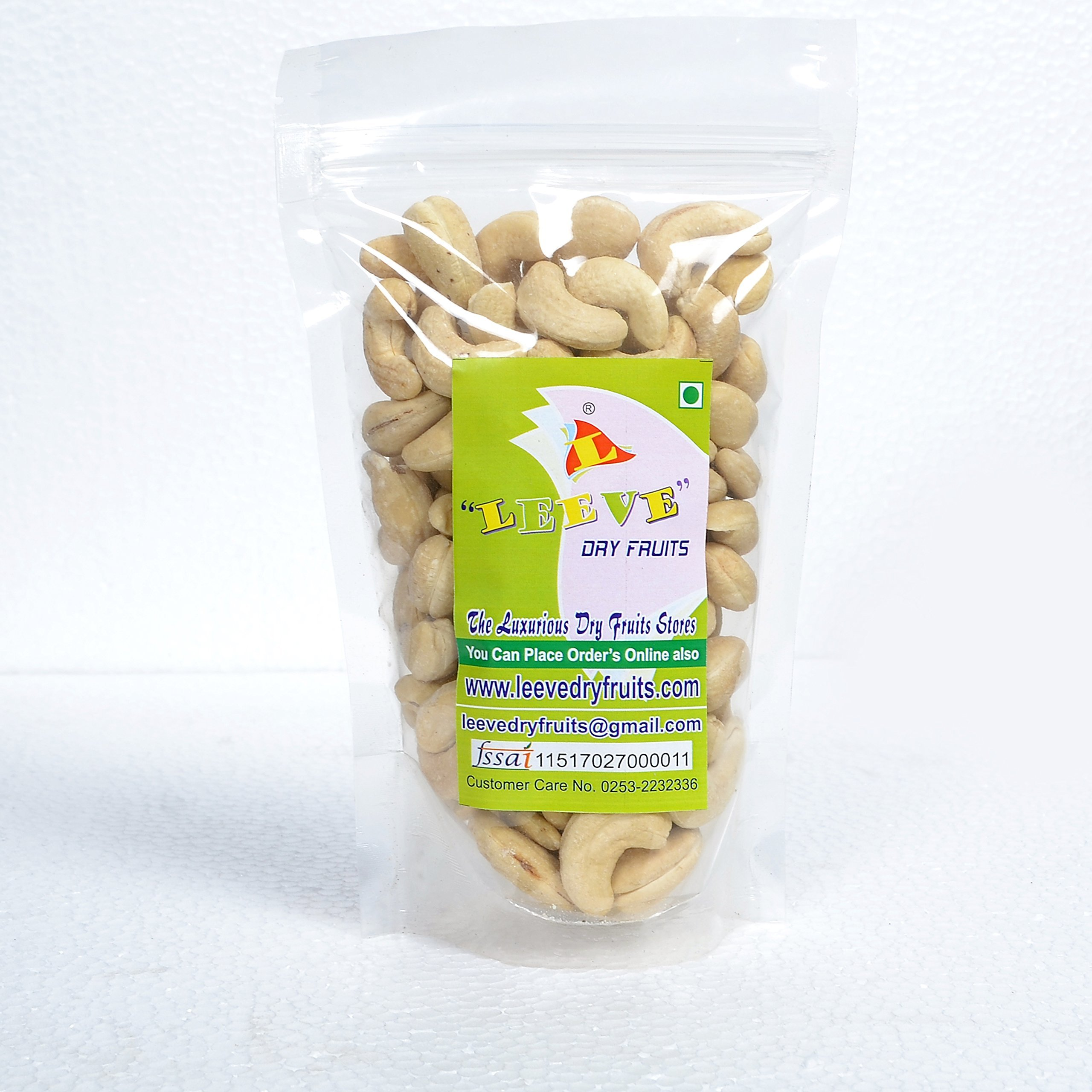 Leeve Dry Fruits Roasted Salted Flavour Cashew Namkeen Kaju - by Leeve Dry Fruits (Image #1)