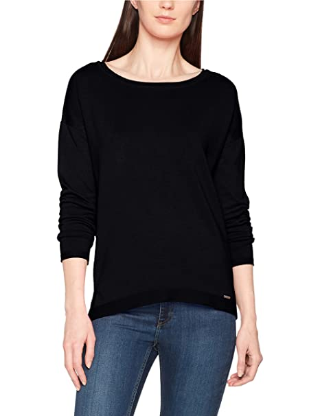 More & More Pullover, Jersey para Mujer, Azul (Marine 0375), 44