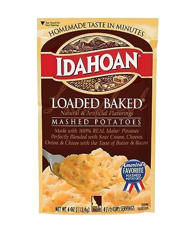 Idahoan – Patatas de papa con carga horneada, fabricadas con ...