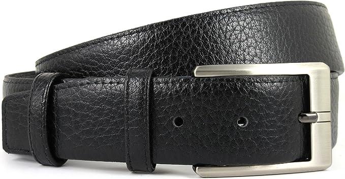 Cinturón de piel para hombre con cremallera secreta interior ...
