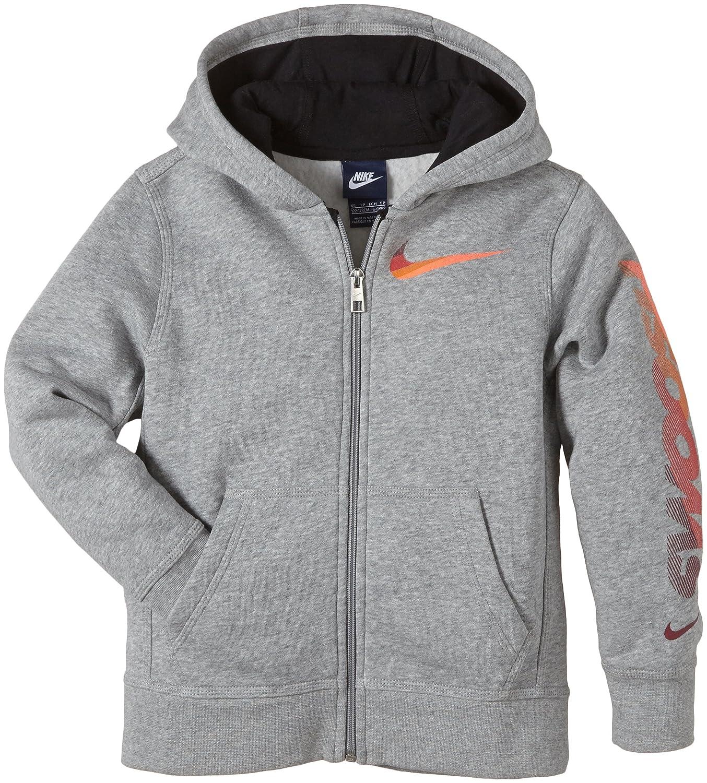 NIKE Jungen Sweatjacke Young Athlete 76 High Brand Swoosh Brushed Fleece Full Zip