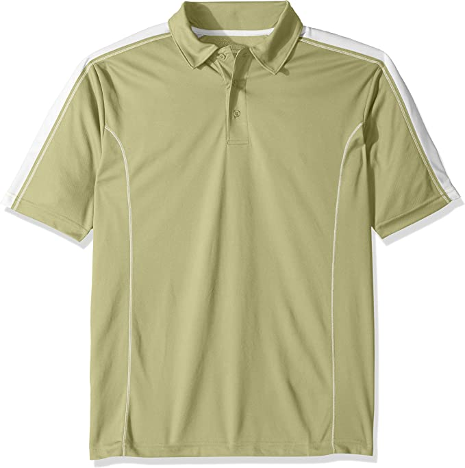 Ashe Xtream Mens Eperformance Propel Interlock Polo with Contrast Tape