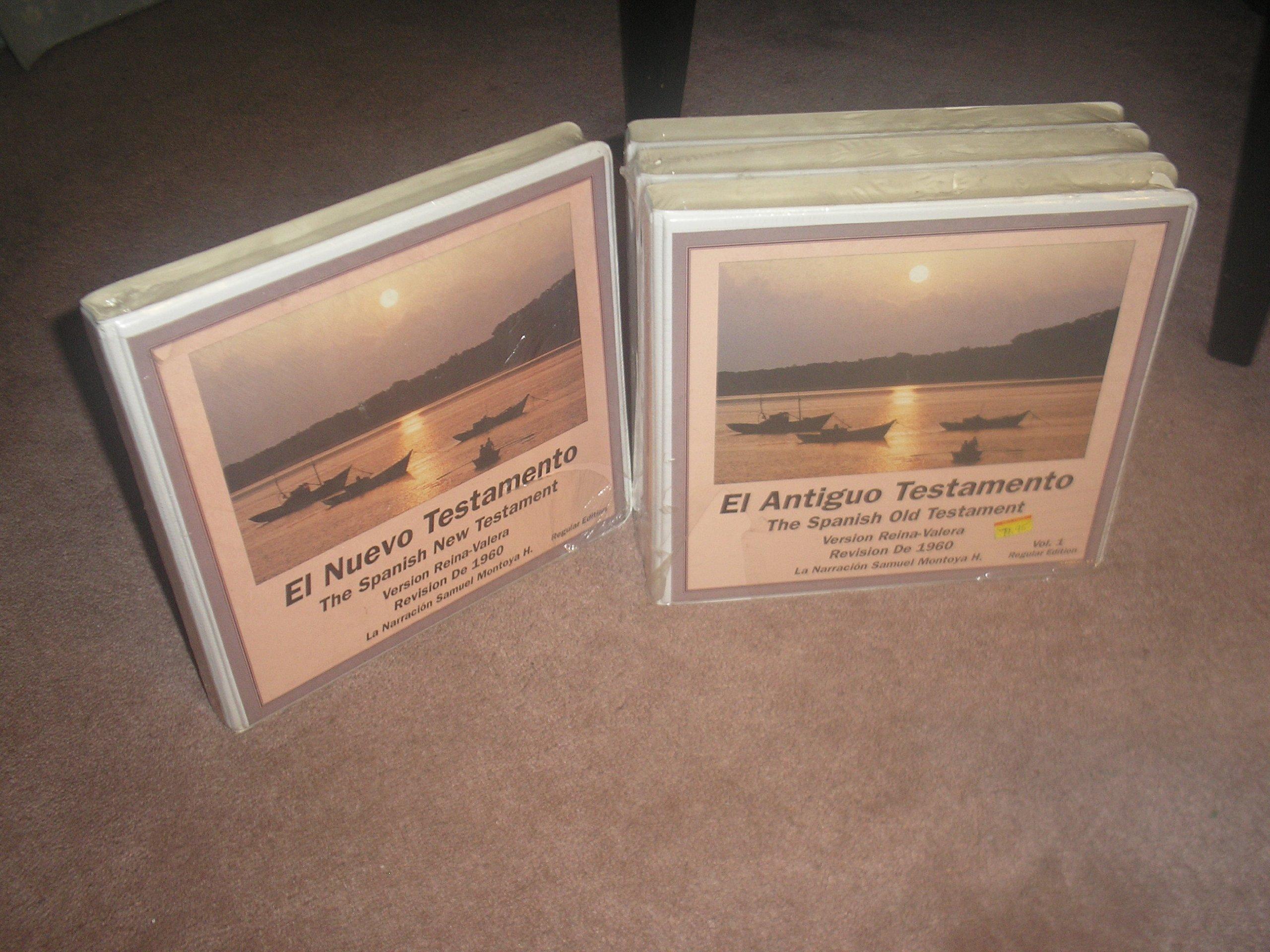 El Nuevo Complete Reina-valera Version Bible on Cassette Audio, Cassette – 1981