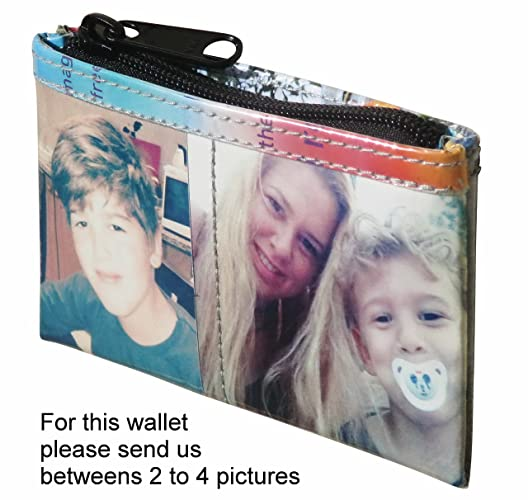 Amazon com: SMALL custom coin purse with your pictures printed on it