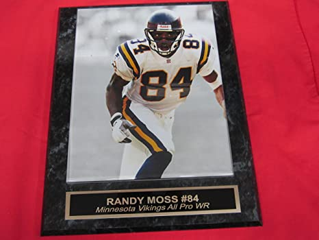 346d119ba Image Unavailable. Image not available for. Color  Randy Moss Minnesota  Vikings ...