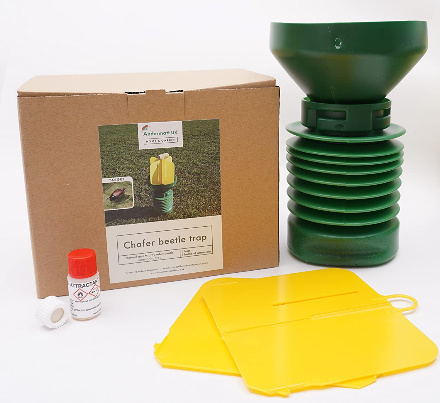 Andermatt Home & Garden Chafer beetle trap - includes male and female attractant