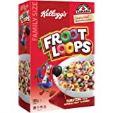 Kellogg's Froot Loops Cereal Family Size 580 Gram