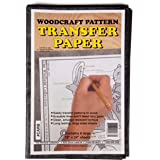 "Wood Transfer Paper: Used For Tracing Designs Onto Wood (8 Sheets - 18"" x 24"")"