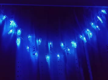 X Gift Guirlande Lumineuse Led Pour Chambre A Coucher Clips