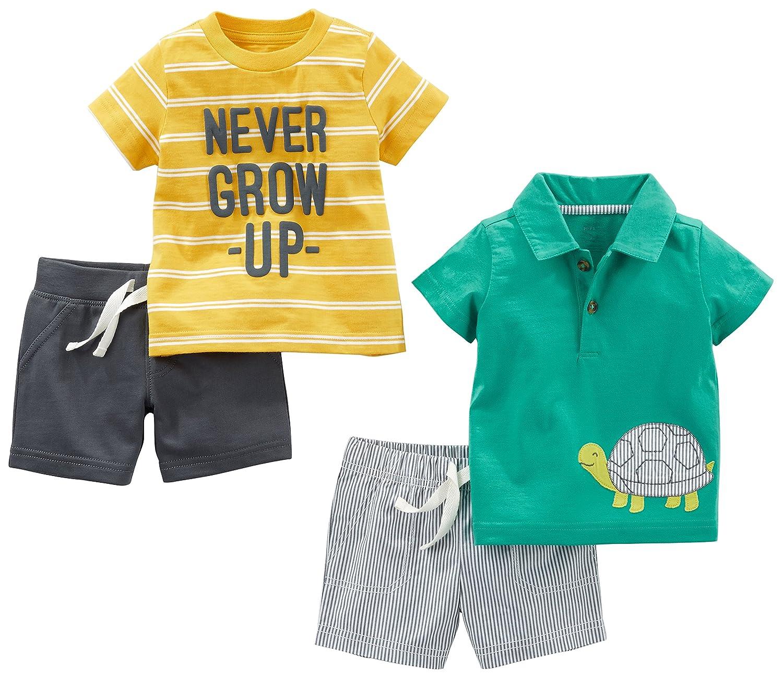 Juego de ropa de juego para ni/ños Simple Joys by Carters 4 piezas