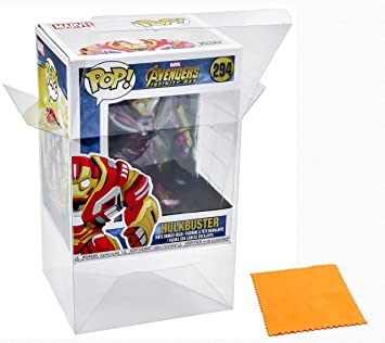 ATV Store Display Box Case / Protector For Hulkbuster #294 Avengers Infinity War (2018) Funko Pop Vinyl (Figure Not Included): Amazon.es: Juguetes y juegos