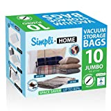 Amazon Price History for:Vacuum Storage bags, Jumbo 10 sets of Travel Space Saver Bags
