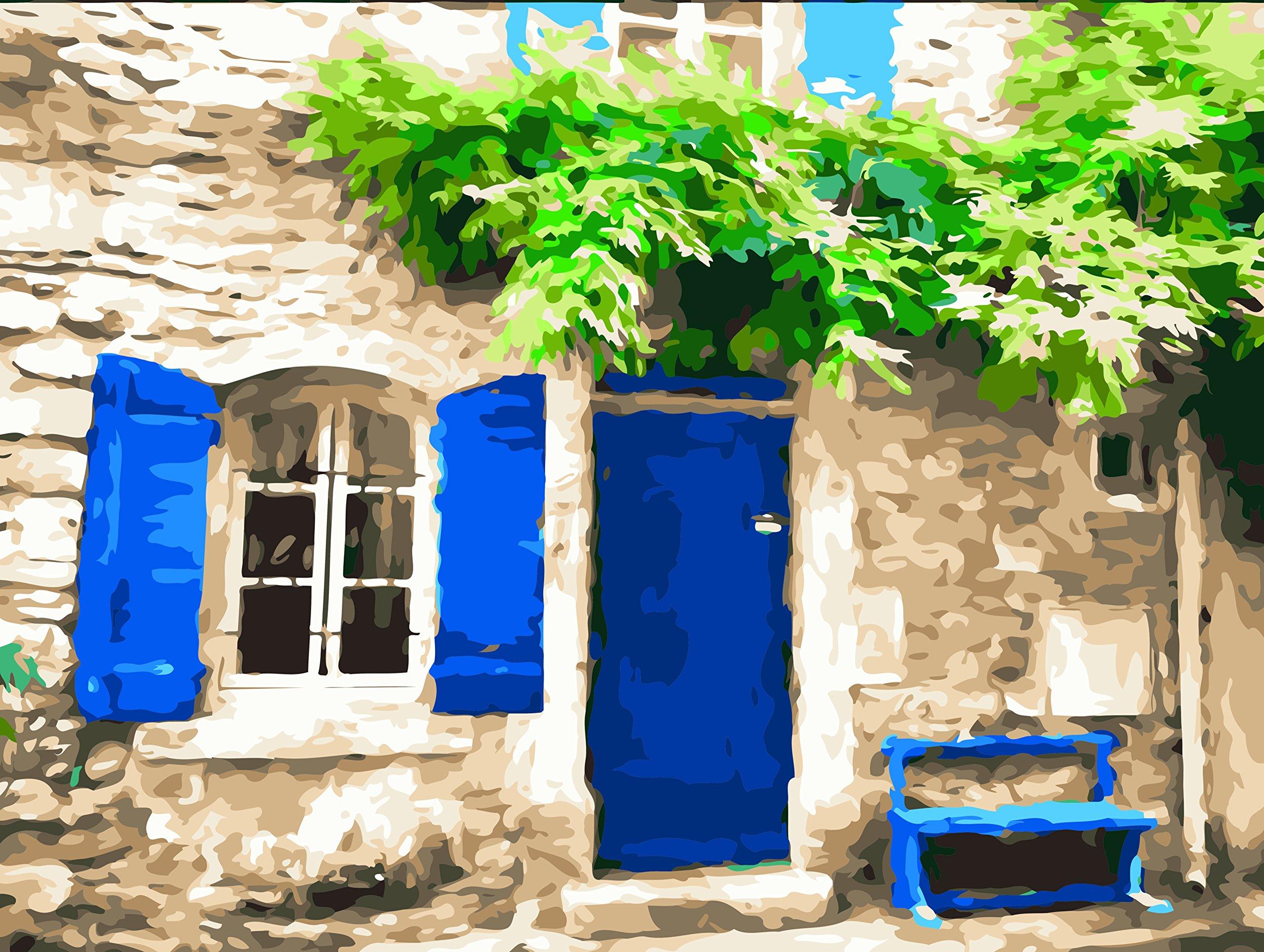 Pintura por Numeros Con Marco (18624956) casa