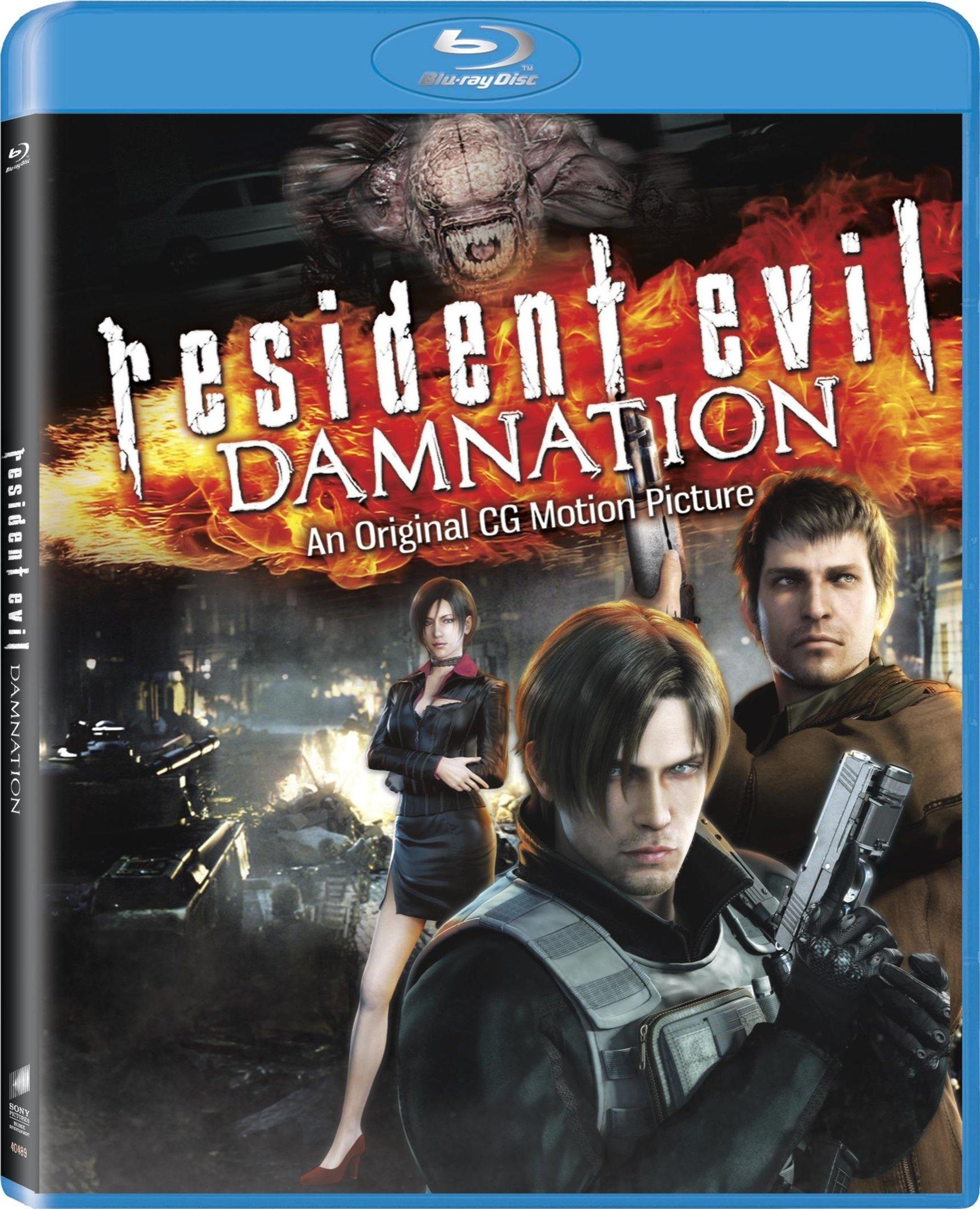 Blu-ray : Resident Evil: Damnation (Ultraviolet Digital Copy, Dolby, AC-3, , Dubbed)