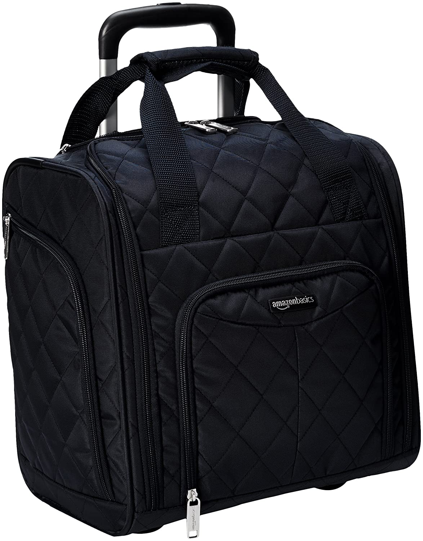 AmazonBasics Bagage cabine compact, Bleu marine Amazon161214