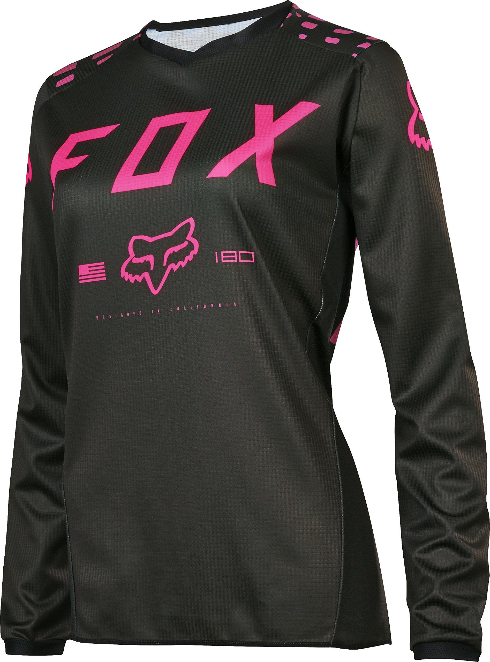 Fox Racing 2017 Womens 180 Jersey-Black/Pink-S