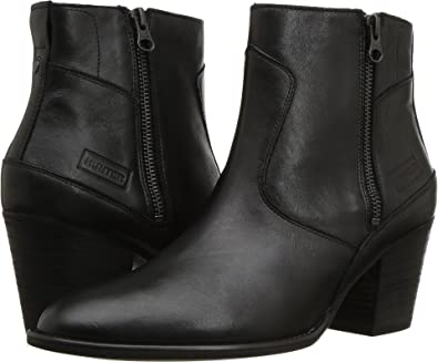 Refined Zip Boot Leather Hunter 5PzF2Wq