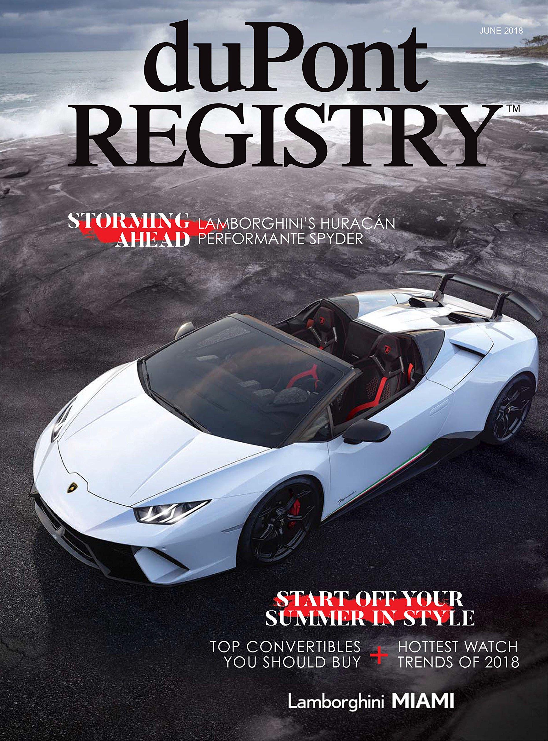 Dupont Registry Autos June 2018 Dupont Registry Amazon Com Books