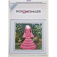 Patrón de costura vestido flamenca Canastero para hacerlo