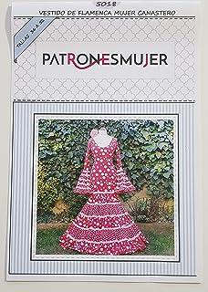 Patrón de costura vestido flamenca Clavel para hacerlo tú ...