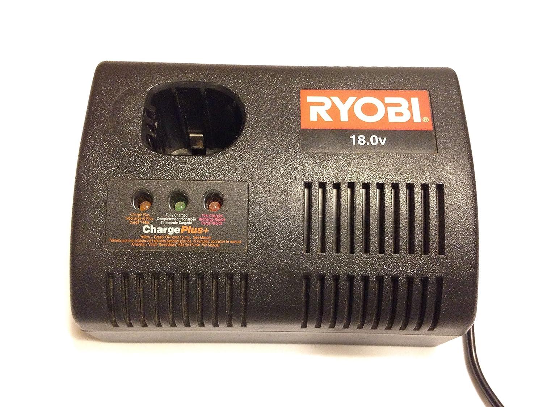 ryobi 140237023 18 volt class 2 single port battery charger rh amazon com Ryobi Drill Manuals Ryobi Blower Parts