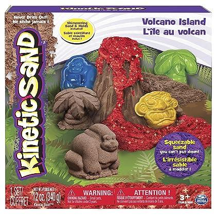 Kinetic Sand, Volcano Island Set