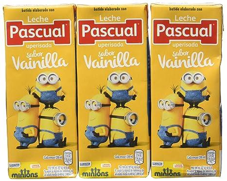 Pascual Batido Vainilla - Paquete de 3 x 200 ml - Total: 600 ml